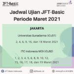 JADWAL TES BAHASA JEPANG JFT BASIC A2